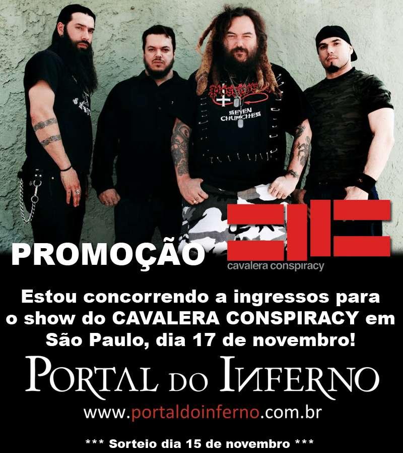 PROMOÇÃO: CAVALERA CONSPIRACY – concorra a ingressos para o show em SP (ENCERRADA)