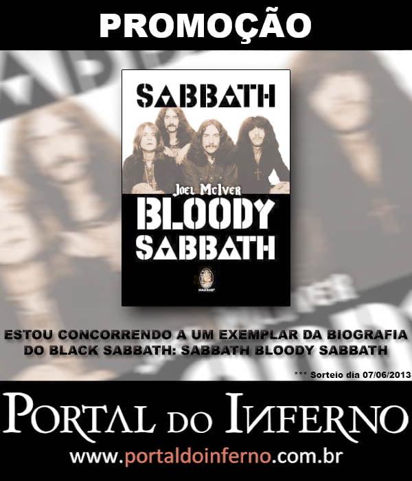 PROMOÇÃO: BLACK SABBATH – concorra a um exemplar da biografia Sabbath Bloody Sabbath (encerrada)
