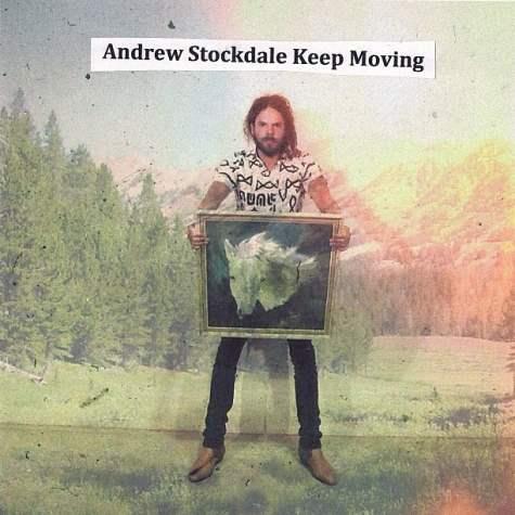 "Capa de ""Keep Moving"", primeiro álbum solo de Andrew Stockdale (Wolfmother)"