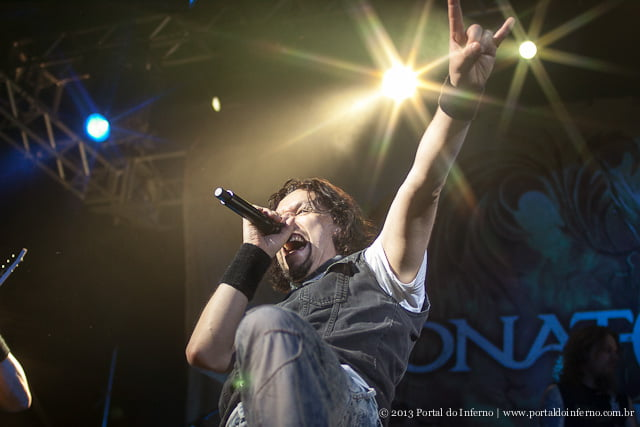 Tony Kakko, Sonata Arctica (foto: Henrique Pimentel)