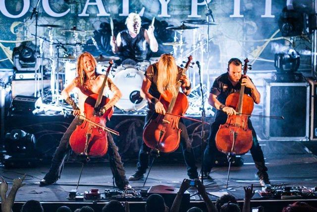 """Apocalyptica: assista ao clipe ao vivo de """"Stormy Wagner"""""""