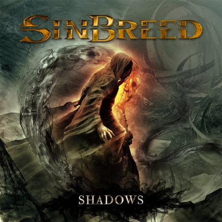 """Capa de """"Shadows"""", o segundo disco do Sinbreed"""