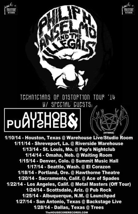 Phil Anselmo Tour 2014
