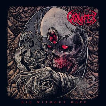 """Capa de """"Die Without Hop"""", o mais recente álbum do Carnifex"""
