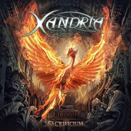 """Capa de """"Sacrificium"""", o próximo disco do Xandria"""