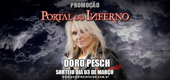PROMOÇÃO: concorra a ingressos para o show da DORO PESCH em São Paulo (ENCERRADA)