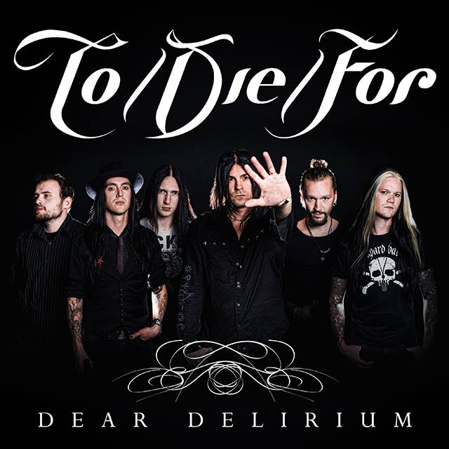 "Capa do single ""Dear Delirium"", do To/Die/For"