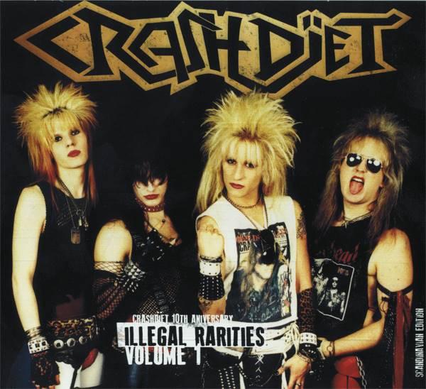 Crashdïet: primeira demo do grupo será relançada em CD digipack