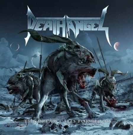 """Capa de """"The Dream Calls For Blood"""", o mais recente disco do Death Angel"""
