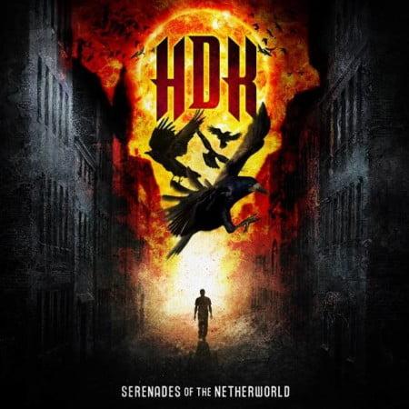 """Capa de """"Serenades of the Netherworld"""", o novo trabalho do HDK"""