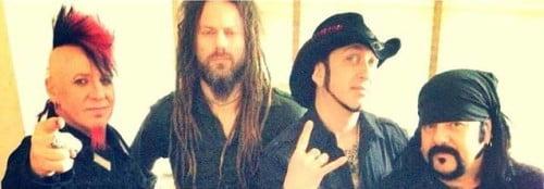 Hellyeah: primeira foto da banda com novo baixista