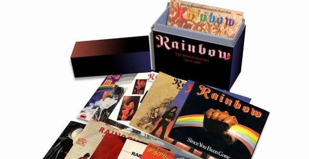 Rainbow: caixa reúne singles de 1975 a 1986