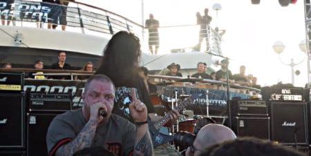 The Haunted: vídeos da estreia da nova formação no 70000 Tons of Metal