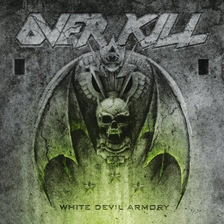 """Capa de """"White Devil Armory"""", novo disco do Overkill"""