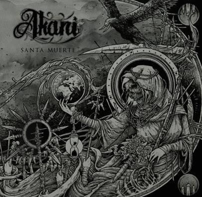 "Capa de ""Santa Muerte"", EP de estreia do Akani"