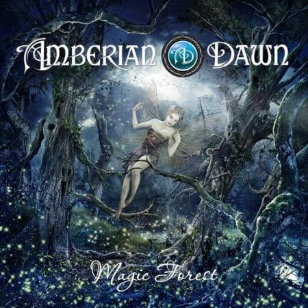 """Capa de """"Magic Forest"""", o novo álbum do Amberian Dawn"""