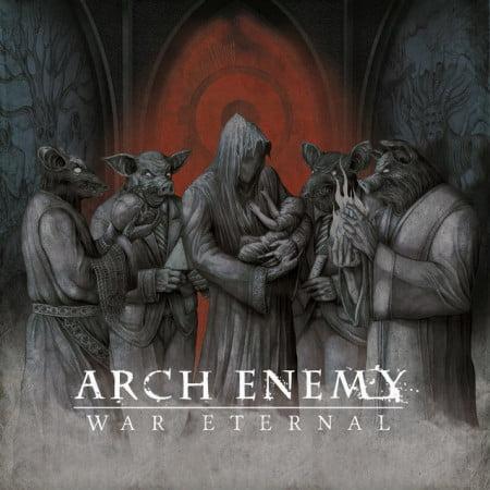 """Capa de """"War Eternal"""", o novo disco do Arch Enemy"""