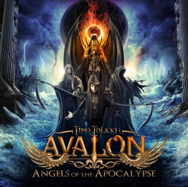"Capa de ""Angels of the Apocalypse"", o novo disco do Timmo Tolkki's Avalon"