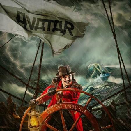 """Capa de """"Hail the Apocalypse"""", o novo álbum do Avatar"""