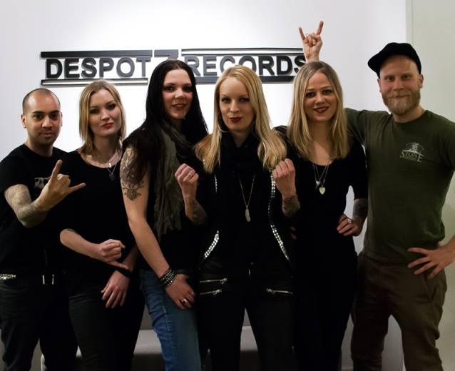 Crucified Barbara: quarteto assina com a Despotz Records para novo disco