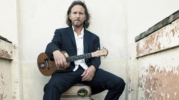 Eddie Vedder: anunciados shows solo no Brasil em maio