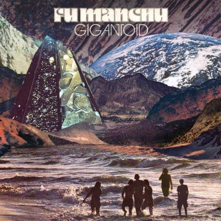 "Capa de ""Gingantoid"", o novo disco do Fu Manchu"