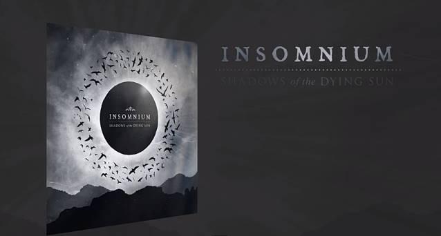 "Capa de ""Shadows of The Dying Sun"", o novo disco do Insomnium"