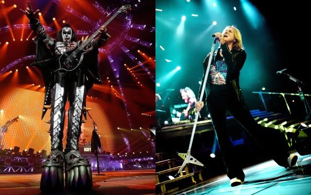 Kiss e Def Leppard: divulgadas datas da tour conjunta