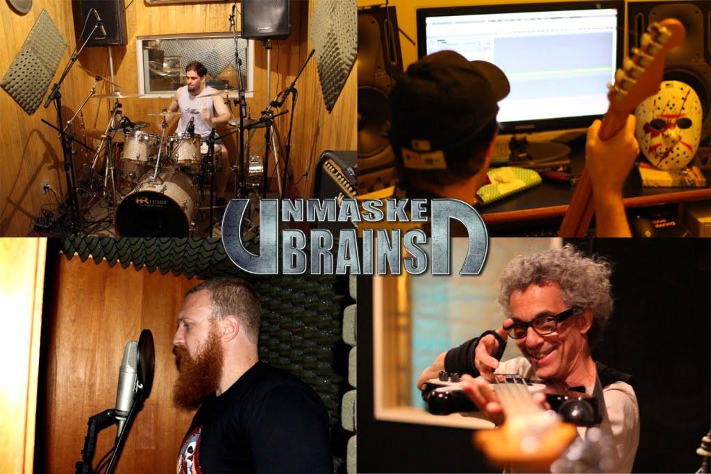Unmasked Brains: shows antecedem lançamento do debut