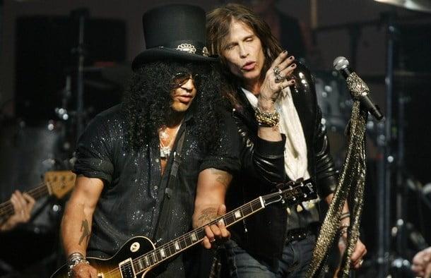Aerosmith e Slash: divulgada agenda da turnê conjunta
