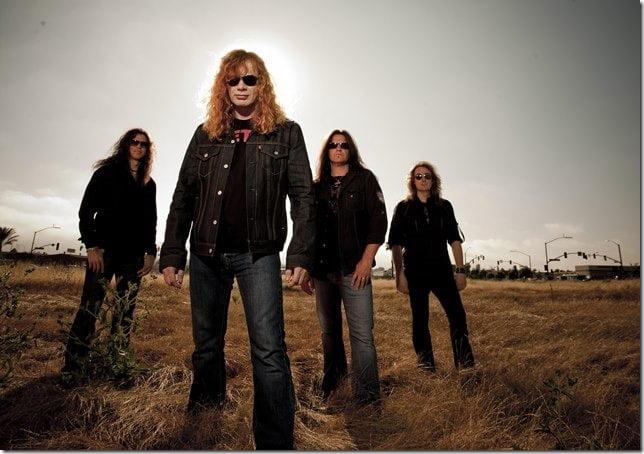 """Megadeth: inicia turnê comemorativa do clássico """"Youthanasia"""" na América do Sul"""