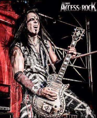 O guitarrista Mr. Y, do Fatal Smile (foto: Dave - Access Rock)