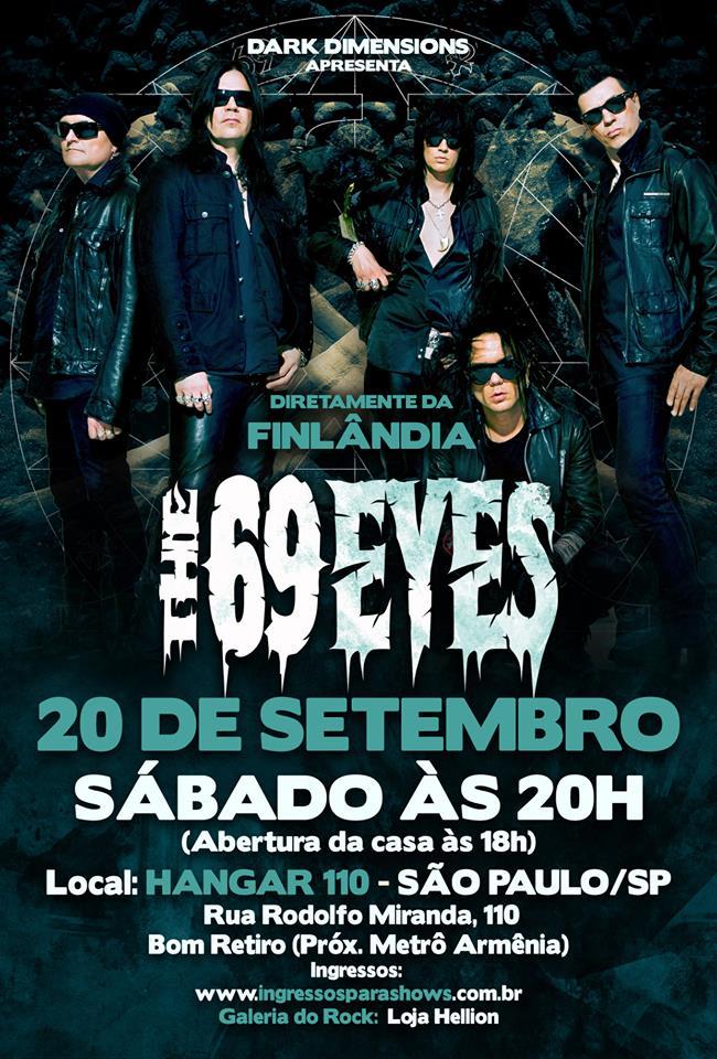 The 69 Eyes_Flyer