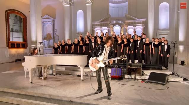 """Aerosmith: preview do vídeo da nova versão de """"Dream On"""", com participação de coral infantil"""