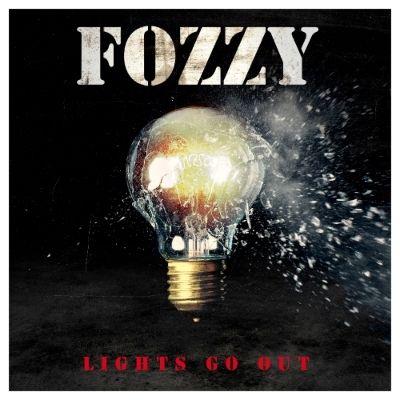 """Capa de """"Lights Go Out"""", o novo single do Fozzy"""