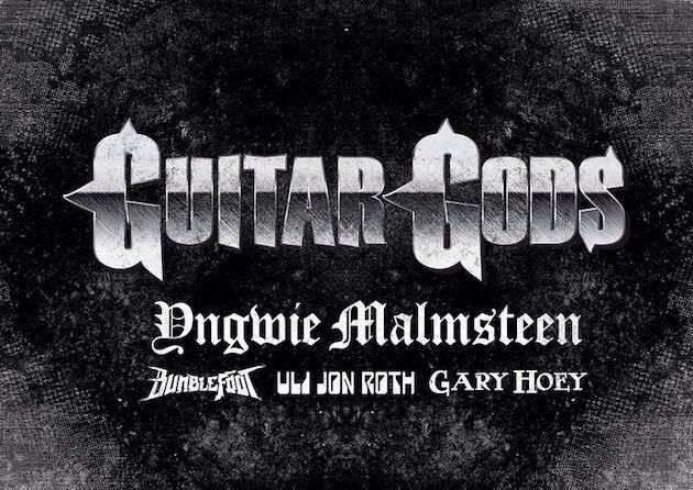 Guitar Gods: Malmsteen, Uli Jon Roth, Bumblefoot e Gary Hoey juntam forças em turnê