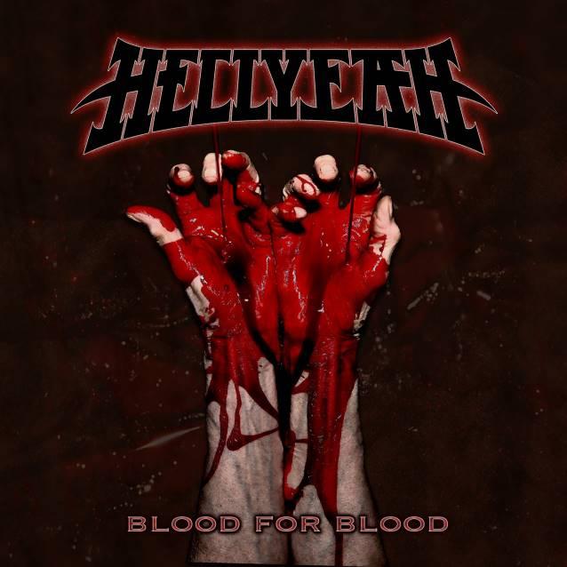 """Capa de """"Blood for Blood"""", o novo disco do Hellyeah"""
