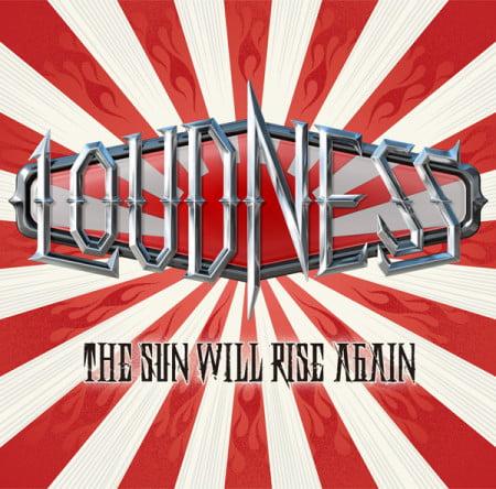 "Capa de ""The Sun Will Rise Again"", o novo álbum do Loudness"