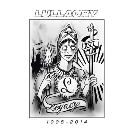 """Capa de """"Legacy 1998-2014"""", compilação de despedida do Lullacry"""