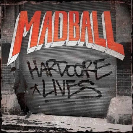 "Capa de ""Hardcore Lives"", novo álbum do Madball"
