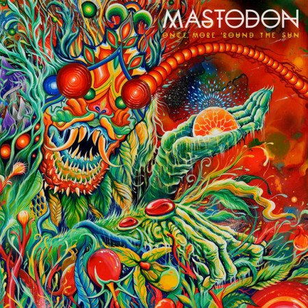 "Capa de ""Once More 'Round the Sun"", o próximo disco de estúdio do Mastodon"