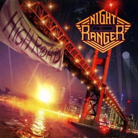 """Capa de """"High Road"""", o novo disco do Night Ranger"""