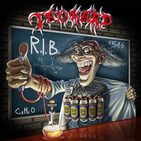 """Capa de """"R.I.B"""", o novo disco do Tankard"""