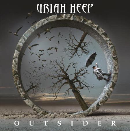 "Capa de ""Outsider"", o novo disco do Uriah Heep"