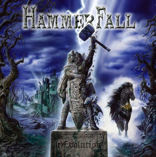 "Capa de ""(r)Evolution"", novo álbum do HammerFall"