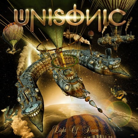 """Capa de """"Light of Dawn"""", novo disco do Unisonic"""