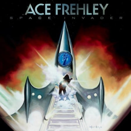 """Capa de """"Space Invader"""", novo disco solo de Ace Frehley"""