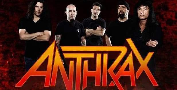 Anthrax: capa e data de lançamento de DVD gravado no Chile