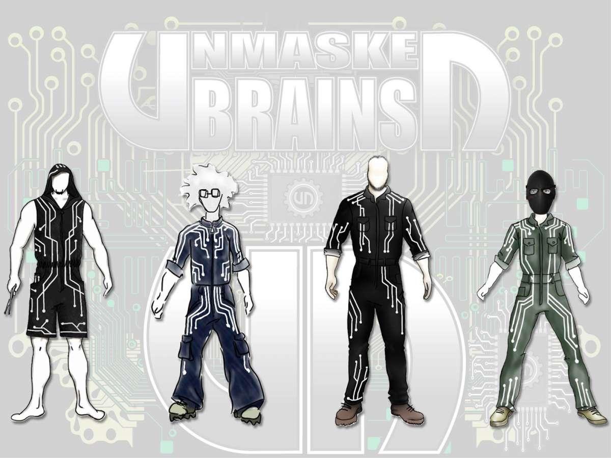 """Unmasked Brains: lançando campanha """"Adote um Headbanger"""""""