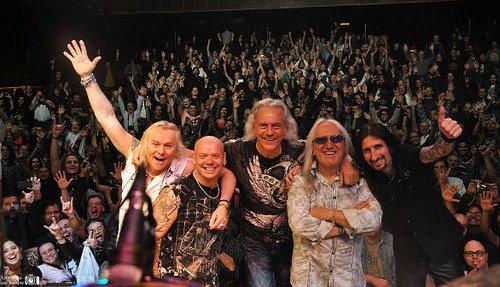 Uriah Heep: faz show completo dia 27 em São Paulo